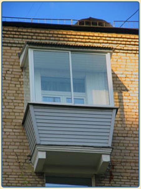 Услуги - остекление и отделка балкона в москве предложение и.